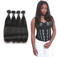 Wholesale 9A Straight Virgin Hair Weave , Natural Straight Hair Extensions Full Cuticle from china suppliers