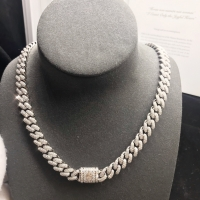 Wholesale 11 Carats 10mm Cuban 30 Inches Hip Hop Necklace 18k Gold luxury jewelry ads from china suppliers