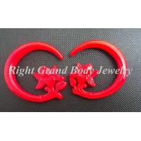 Buy cheap Flower Spiral Ear Tapers / Custom Ear Stretchers For Women / Men from wholesalers