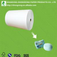 China PE coated art paper for soap wrapping on sale