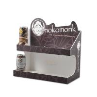 Quality Fashion Food Display Trays More Layer / Acrylic Juice Paper Display Stand for sale