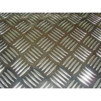 Wholesale Flat Five Diamond Embossed Aluminium Sheet / Aluminium Tread Plate With ASTM Standard from china suppliers