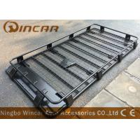 Buy cheap Car Roof Rack Heavy Duty Black Cargo Luggage rack with light & spare wheel from wholesalers