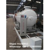 Wholesale 8,000Liters mobile skide mounted lpg gas propane filling station for gas cylinder for sale, skid lpg gas plant for sale from china suppliers