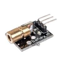 Wholesale 650nm Laser sensor Module 6mm 5V 5mW Red Laser Dot Diode Copper Head for Arduino from china suppliers