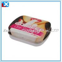 Wholesale Compare mint tin, sweets box, slide cover tin can from china suppliers