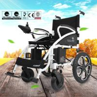 Wholesale 6009 Light Weight Electric Folding Wheelchair For Elderly with Steel Material from china suppliers