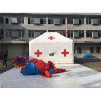 Wholesale Promotion White Red Cross Outdoor Medical Inflatable Tent With Logo Printing from china suppliers