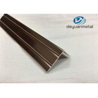 Wholesale 6063 T5 Polishing Bronze Aluminium Trim Extrusion Profile GB/75237-2004 from china suppliers