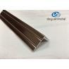 Wholesale 6063 T5 Polishing Bronze Aluminium Trim Extrusion Profile GB/75237-2004 from china suppliers