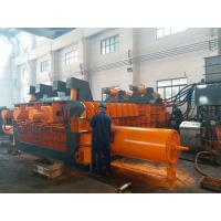 Wholesale Automatic Control Power 180kW Scrap Baler Machine , Hydraulic Baling Press Machine from china suppliers