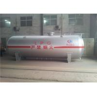 China High Strength Large Propane Gas Tanks , 10mm 12mm Q345R Body Lpg Propane Tank for sale