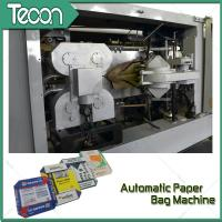 Buy cheap Automatic Bottom Open and Glue Bottomer Machine Paper Bags Production Lines from Wholesalers