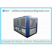 Wholesale 20 Tons to 130 Tons Air Cooled Screw Type Water Chiller for Beverage Production Line from china suppliers
