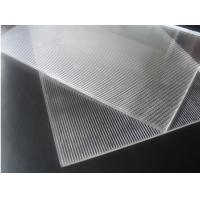 Wholesale Super transparent PS 3d lenticular 1.2*2.4m 2mm 40lpi 3.95mm material for injekt 3d lenticular printing and UV flatbed from china suppliers