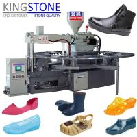 Buy cheap Kingstone Machinery Rotary Plastic Shoes Injection Moulding Machine from wholesalers