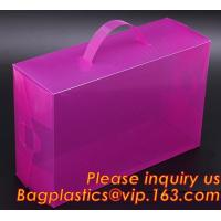 Wholesale Electric product vinyl ear phone black paper box , plastic box, pvc plastic box transparent plastic shoe box clear plast from china suppliers
