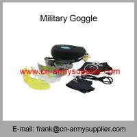 Wholesale Wholesale Cheap China Outdoor Anti-Sctrach Anti-Fog Army Sun Goggles from china suppliers