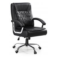 China Luxury Wide Revolving Executive Office Chair With Arm Cool Style Fire Resistant on sale
