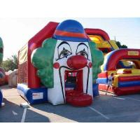 Wholesale Funny Clown Commercial Jumping Castles Bounce Houses For Kids from china suppliers