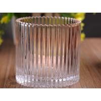 Wholesale 530Ml Personalized Glass Candle Holders For Table , Eco Friendly from china suppliers