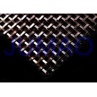 Wholesale Antique Black 1/2 Decorative Metal Mesh Panels Bright Surface With Clear View from china suppliers