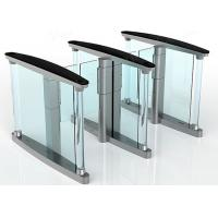 Quality Intelligent Automatic Turnstiles , Controlled Access Turnstiles Gate With Servo Driver for sale