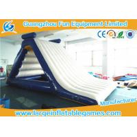 China Family Inflatable Floating Water Slide Theme Parks Giant Water Park Slides on sale