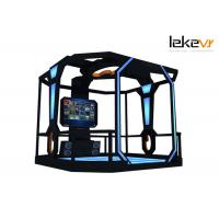 China Interactive Shooting 9D VR Simulator For Sale In FEC and Arcades on sale