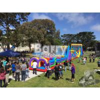Wholesale Outdoor Playground Big Inflatable Obstacle Course On Land For Teenagers / Kids from china suppliers