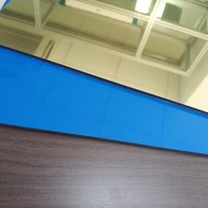 Wholesale Gold Colour High Reflective Mirror Finish Aluminum Sheet , Mirror Polished Aluminium Sheet from china suppliers