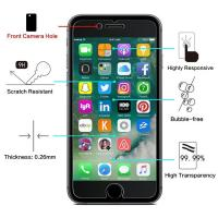 Wholesale High Definition 2.5 D Tempered Glass Screen Protector Bubble Free For IPhone from china suppliers