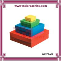 Wholesale Recycle paper box cosmetic gift set packaging box ME-TB009 from china suppliers