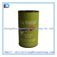 Wholesale 4 c full printing Tea paper can from china suppliers