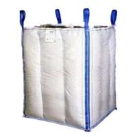 Wholesale 1.5 Tons 4 Panel Baffle Big FIBC Bulk Bag Blue / Orange Color For Loading from china suppliers