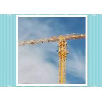 China Large Construction Hammerhead Tower Cranes / Travelling Tower Crane on sale