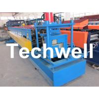 Wholesale Z Channel / Section / Profile Cold Roll Forming Machine For 80 - 300 Width Z Channel from china suppliers