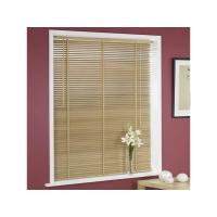 Quality wooden blind, Folding and rolling-over freely with drawstring or ladder tape for sale