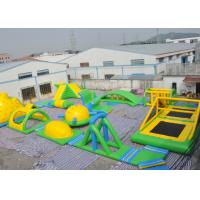 Wholesale Sea Inflatable Floating Water Park , Giant  Adult Inflatable Water Splash Park Equipment from china suppliers