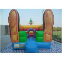 Quality Clown Inflatable Bouncer , Loving Bouncer Shoes With Mini Size for sale