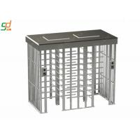 Wholesale Double Lane Full Height Turnstiles Prevent Illegal Access Control Turnstar Gate from china suppliers