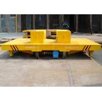 Wholesale Industrial heavy load steel coil rail transport trolley for aluminum factory apply from china suppliers
