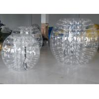 China Customize 1.5m Inflatable Bumper Ball / Human Hamster Inflatable Bubble Soccer For Adults on sale