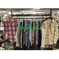 Wholesale Wearable Clean Mens Used Clothing Long Sleeves Mixed Color For Summer from china suppliers