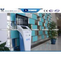 Wholesale Touch Sensitive Screen Self Serving Kiosk , Self Service Terminal Multi - Card Reader from china suppliers
