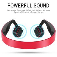 China Portable Wireless Outdoor Sports Headphone waterproof bone conduction headphones with microphone on sale
