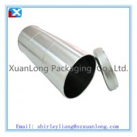 Wholesale coffee tin box with metal lid from china suppliers