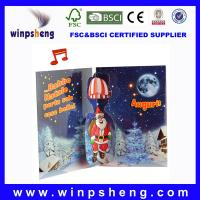 Buy cheap 3d christmas cards from wholesalers