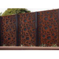 Wholesale Rusty Finish Large Outdoor Metal Wall Sculpture OEM / ODM Acceptable from china suppliers