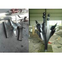 Quality Customized Size Abstract Family Sculpture , Outdoor Metal Lawn Sculptures for sale